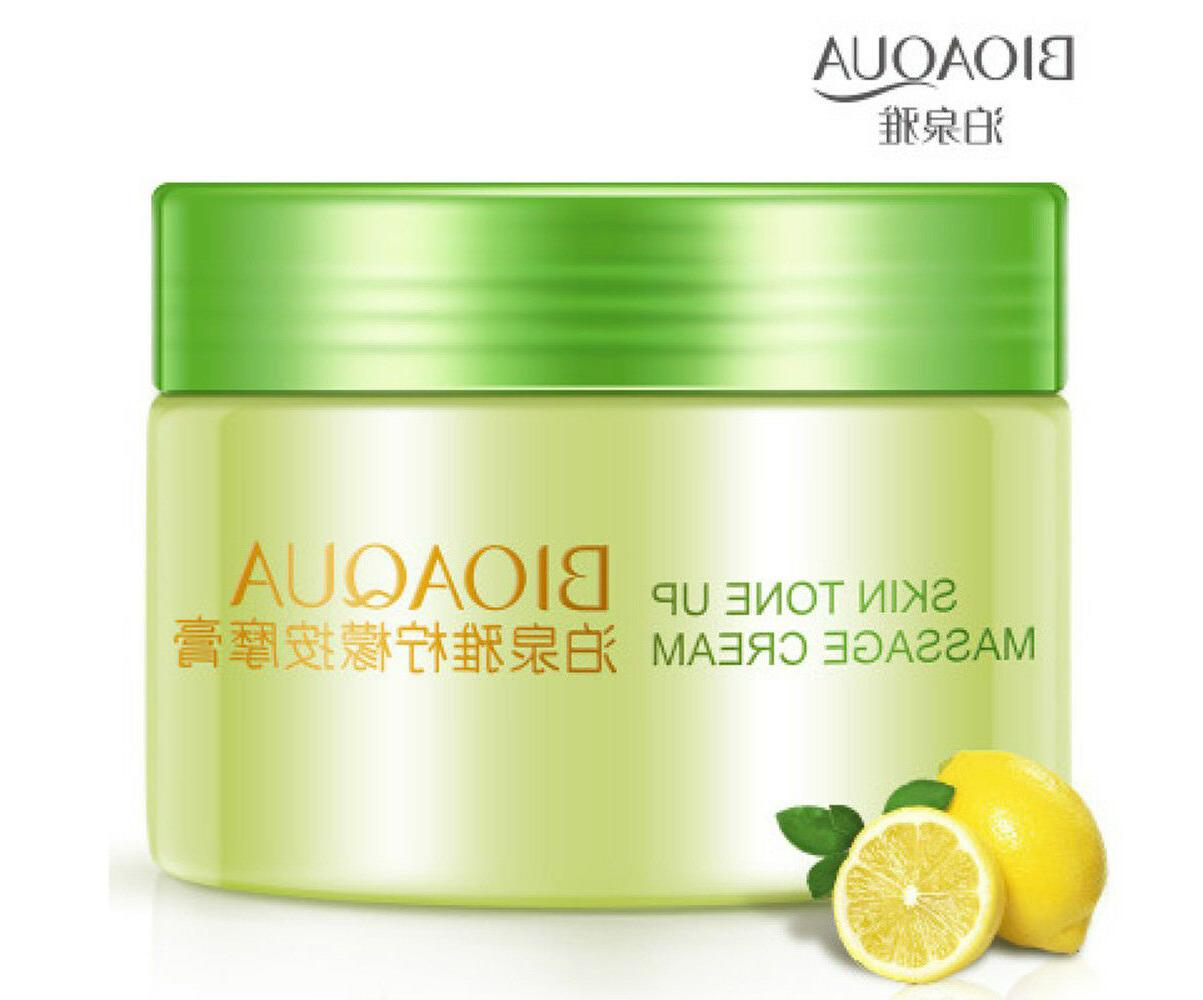 BIOAQUA Skin Tone Up Massage Cream The Lemon Face Natural Cl