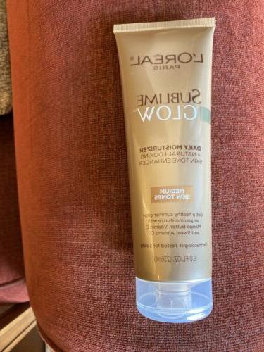 L'Oreal Paris Sublime Glow Daily Moisturizer and Natural Ski
