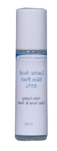 LACTIC Acid 90% Skin Chemical Peel- Alpha Hydroxy  For Acne,