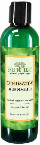 ToLB Vitamin C Facial Cleanser - 72% ORGANIC - Anti Aging An