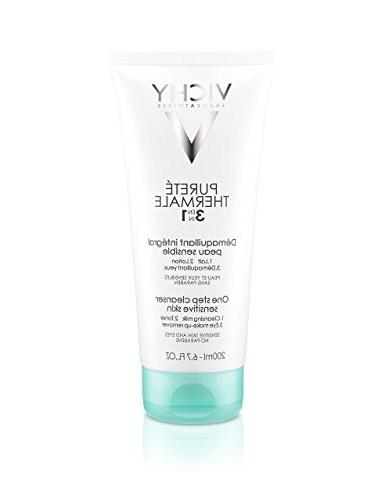 Vichy Pureté Thermale One Step Cleanser for Sensitive Skin,