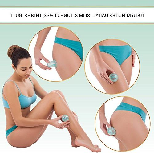 Anti-Cellulite Set - 2-Pack - Body Massage Kit Suction Muscle & Joint Pain –
