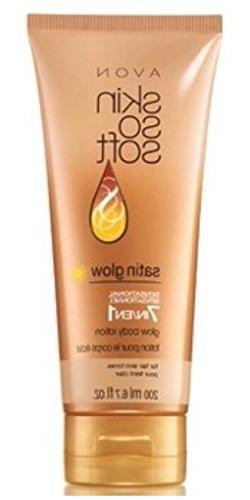Avon Skin So Soft Satin Glow 7-in-1 Sensational Glow Body Lo