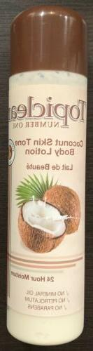 Topiclear Coconut Skin Tone Body Lotion 500ml / 16.8oz
