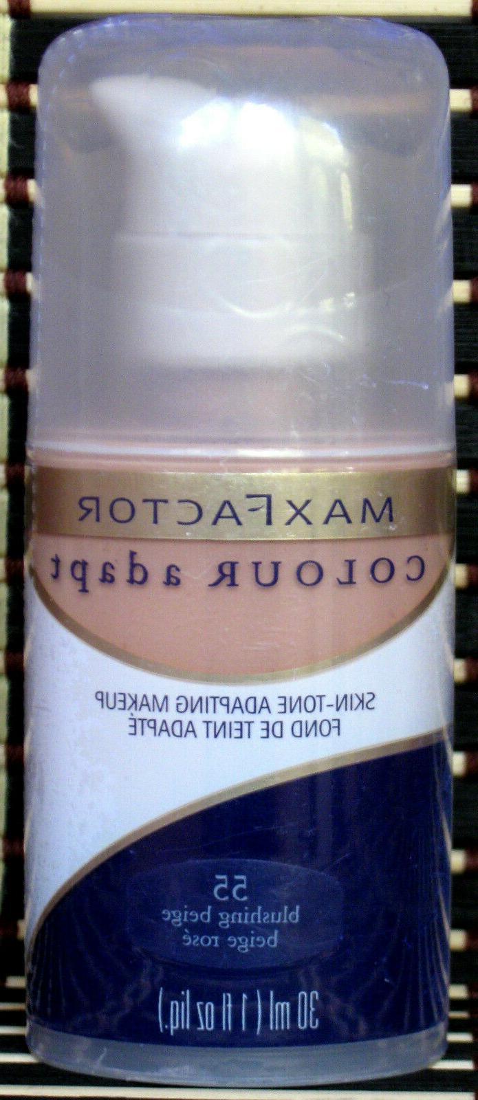 Max Factor Colour Adap Skin Tone Adapting Makeup #55 BLUSHIN