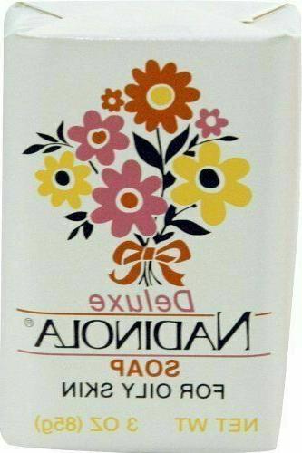 Deluxe Nadinola Bar Soap ~ Helps Tone Fade Dark Spots ~ Oily