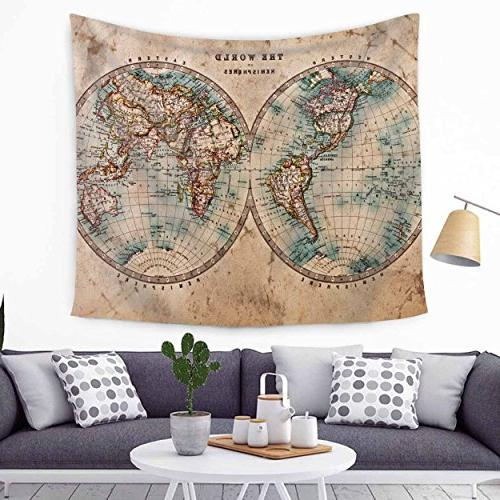 Chengsan Earth Collection, World from and History Living Girls Dorm Accessories Wall Hanging Tapestry