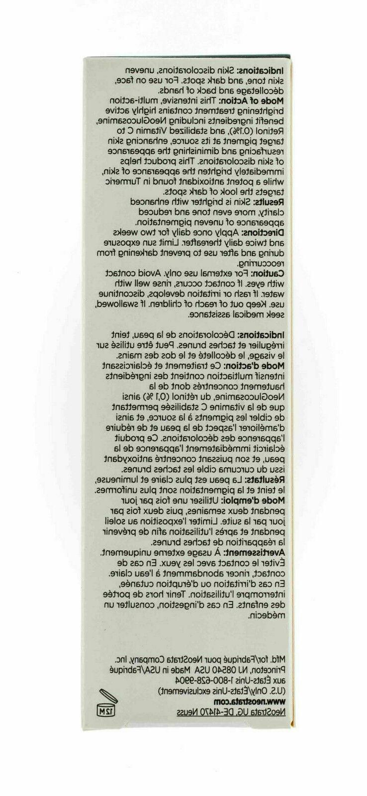 NeoStrata Enlighten Controller Skin 30 ml / oz New