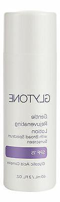 Glytone Gentle Rejuvenating Lotion SPF 15 2oz