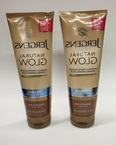 Natural Glow Firming Moisturizer for Fair to Medium Skin Ton