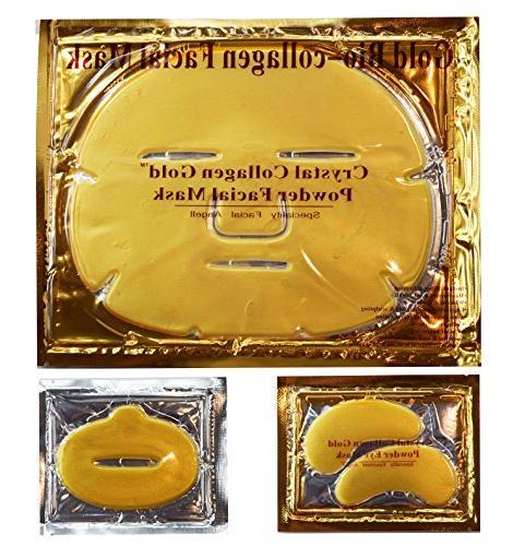 gold collagen combo set facial