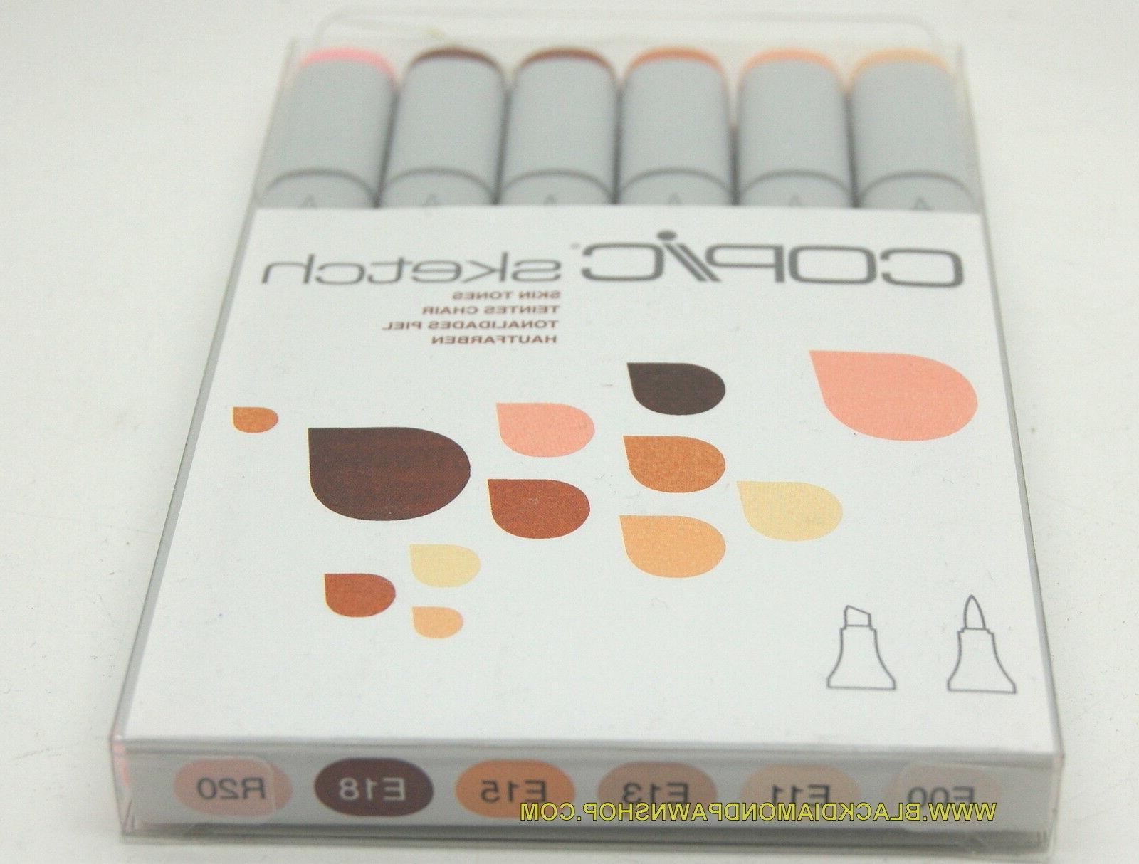 Copic Markers Set, Tones I. .