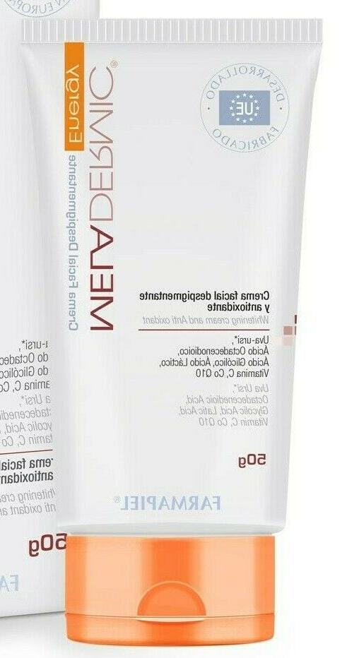 meladermic energy depigmenting facial cream 50g clear