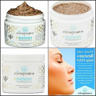 microdermabrasion face scrub facial mask in one