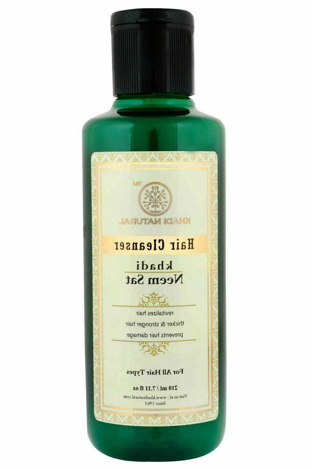 natural ayurveda neem set herbal shampoo 210