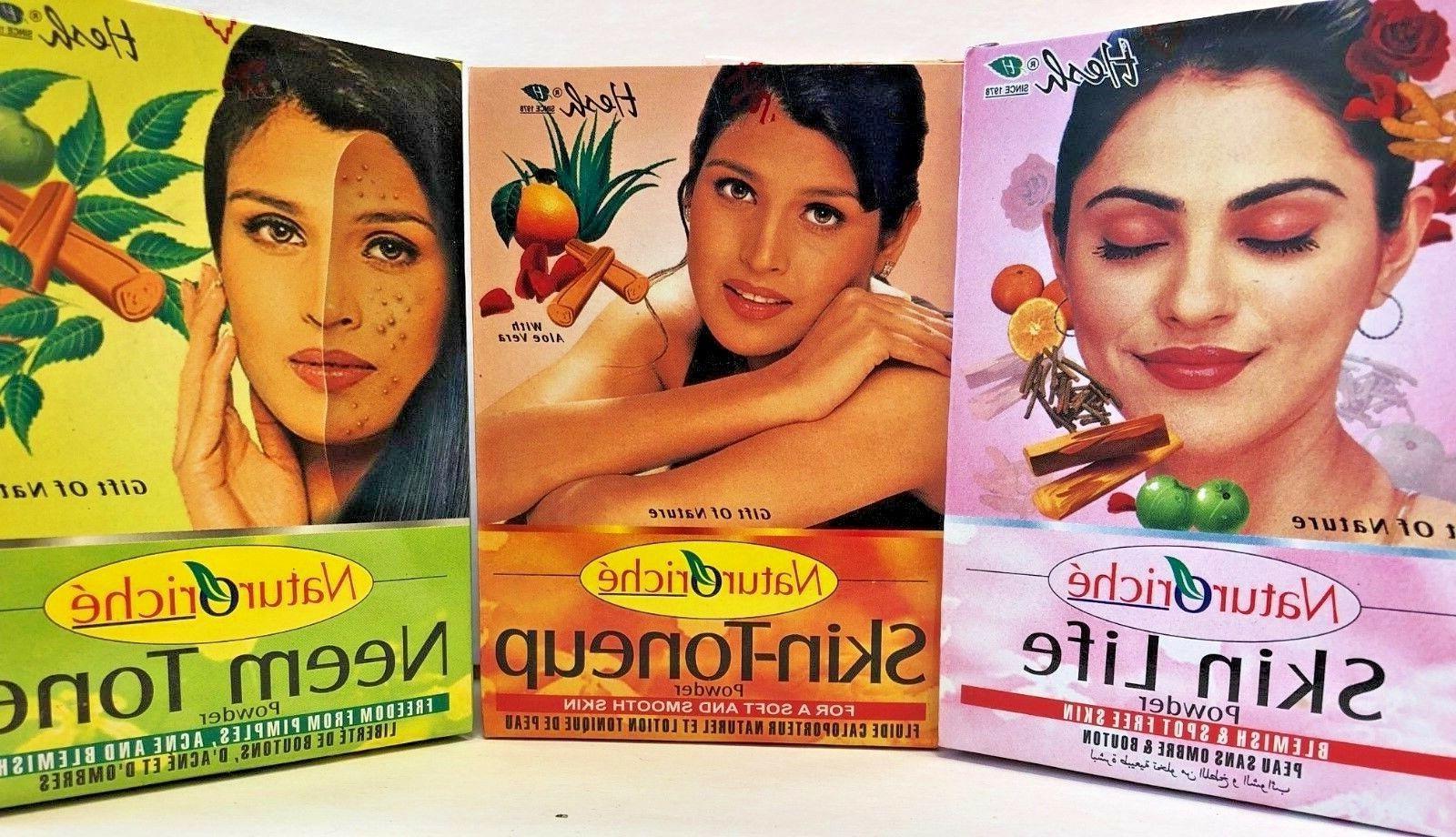 Hesh Naturoriche' Skin Care Kit:100g X Pack of 3-Neem Tone,S