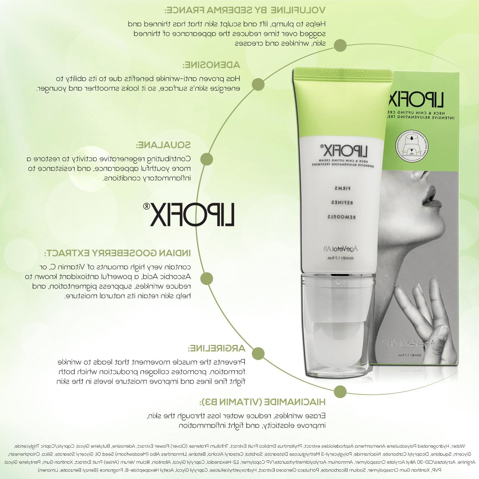 Neck Firming Tones & Firms Skin Anti-Aging