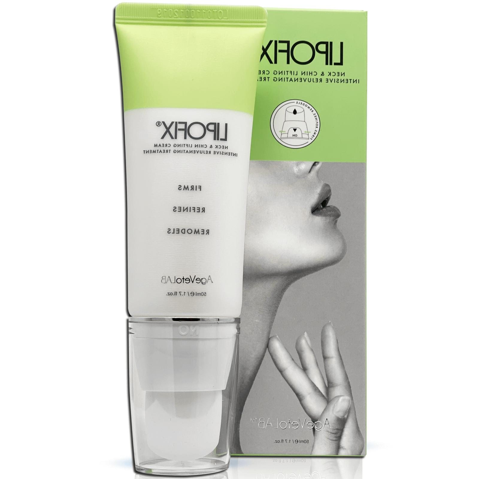 neck firming cream tones and firms sagging