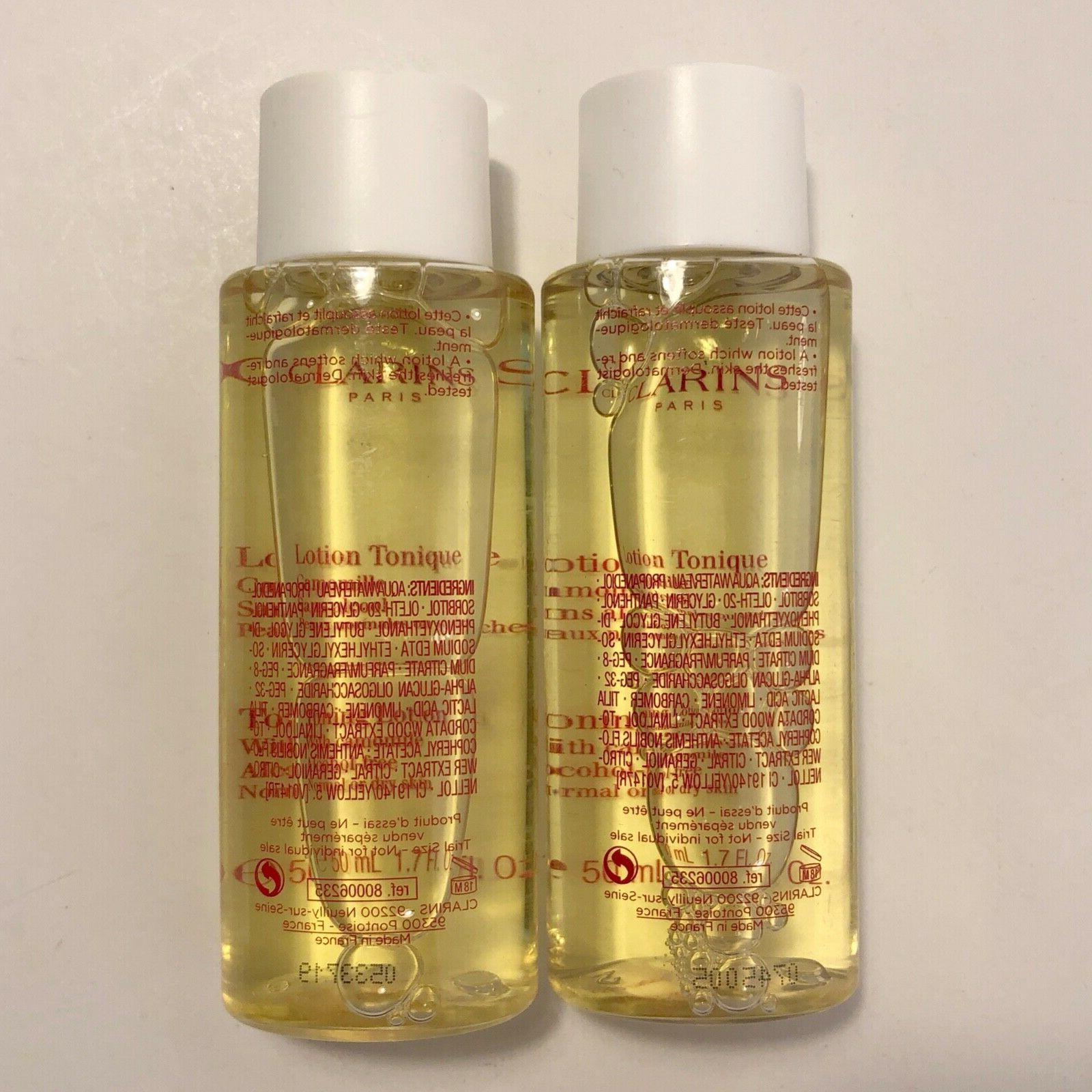NEW CLARINS Toning Lotion with x2