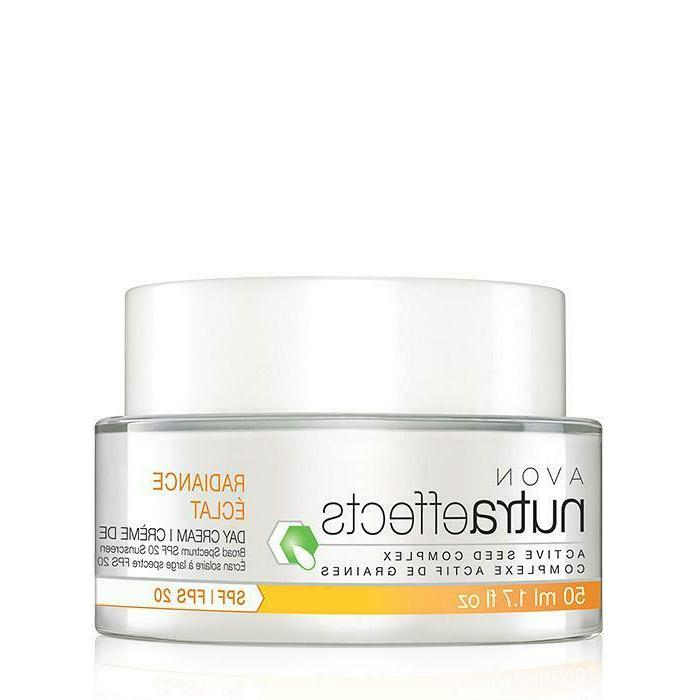 nutraeffects radiance day cream for dull