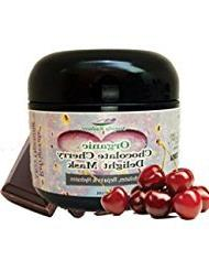 Organic Chocolate Cherry Delight Facial Mask - Helps even sk