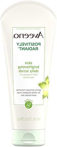 AVEENO Positively Radiant Skin Brightening Exfoliating Daily