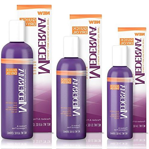 Mederma Quick Oil - stretch marks, skin and dry skin - #1 scar - fragrance-free, - 6.8 ounce