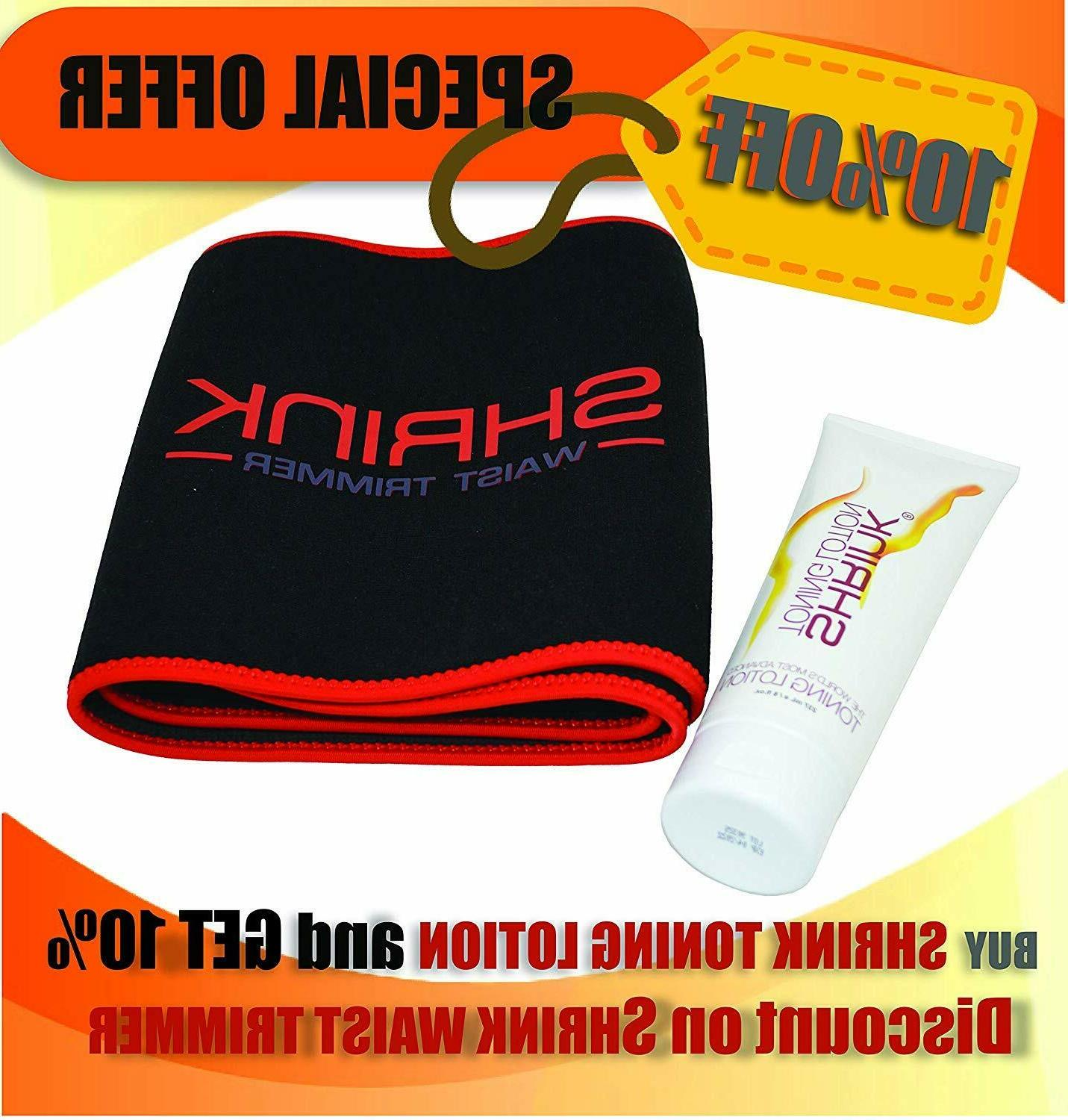 Shrink Heat Activated Skin Cream for Reduces T