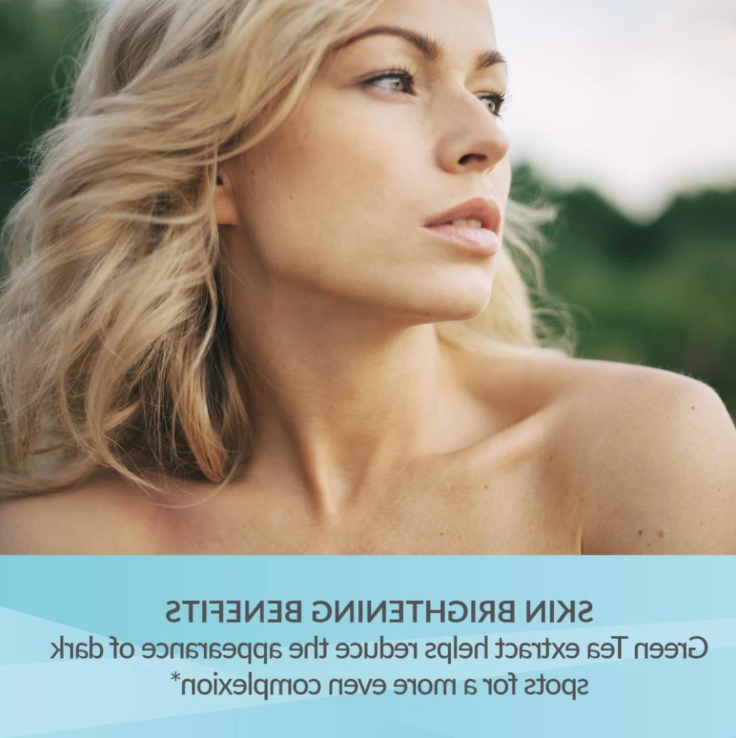 Skin Tone Skin Vitamin Jojoba Oil, & Green