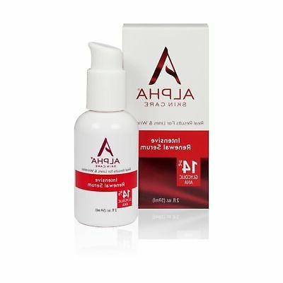 skin care intensive rejuvenating serum