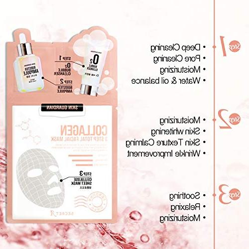 SkinGuardian Collagen 3 Total Mask set of and