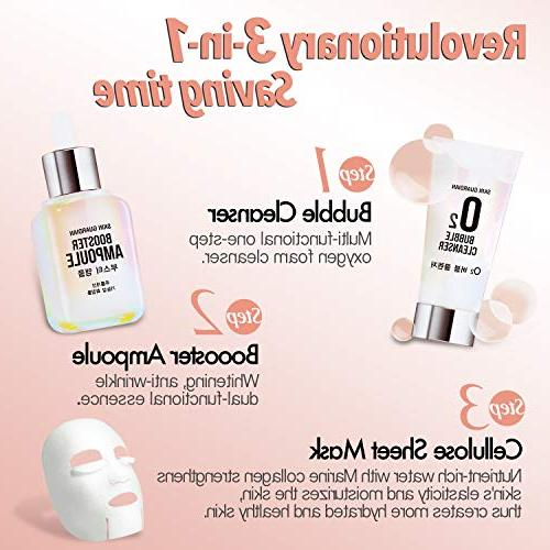 SkinGuardian Total Facial set of with cleanser and