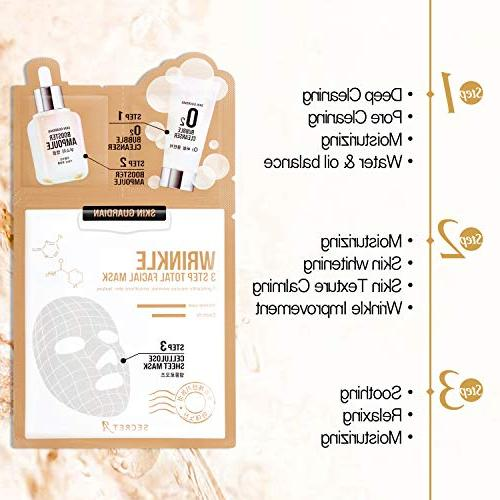 Skin Guardian 3 Step Total Facial Mask the Most Brand in Korea Enjoyed By Many Including and