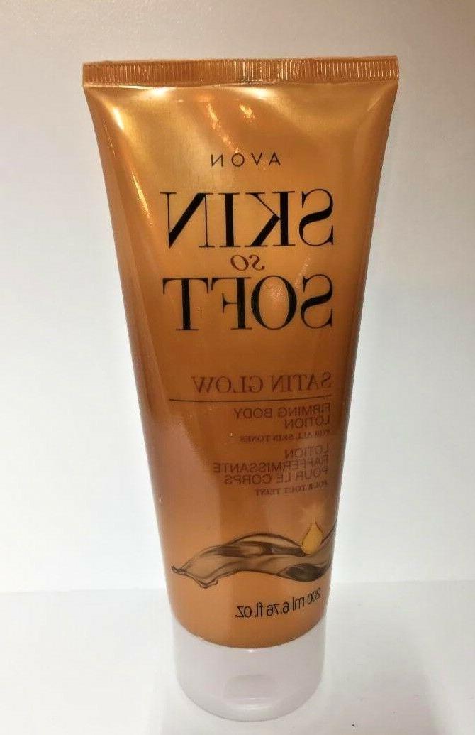 Avon Skin So Soft Satin Glow Firming Body Lotion for All Ski