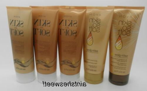AVON Skin So Soft SSS Satin Glow For All Skin Tones - Choose