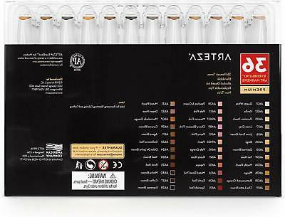 ARTEZA Based Set 36 Dual Tips