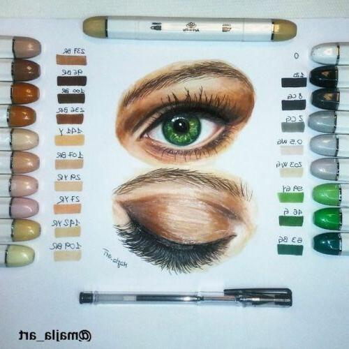 Skin Alcohol Marker Set Flesh Color Sketch Markers