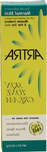 Artra Skin Tone Cream for Normal Skin - HQ Free - Nor 2 oz.