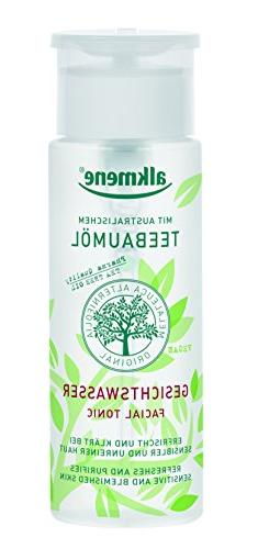 Tea Tree Oil Facial Toner Imported from Germany Paraben Free