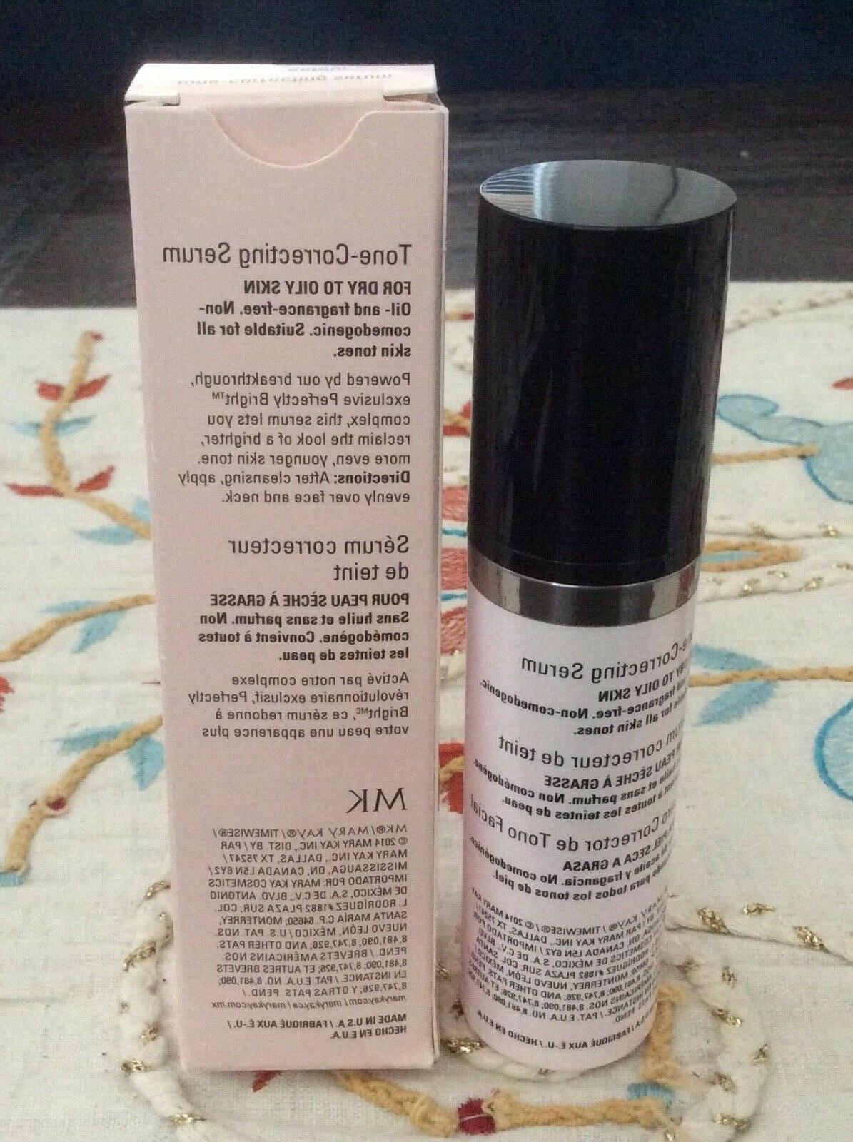⭐️⭐️⭐️ Mary Kay Tone-Correcting Serum to Oily Skin 1 Fast Ship