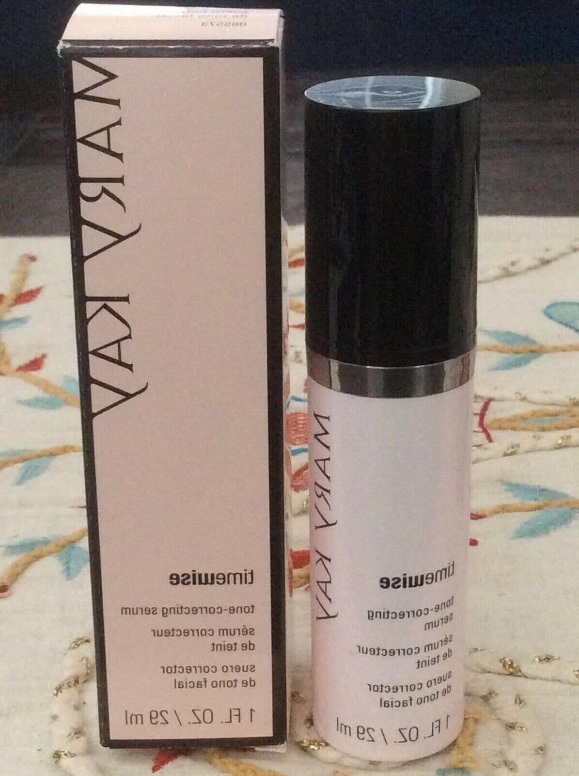 timewise tone correcting serum dry to oily