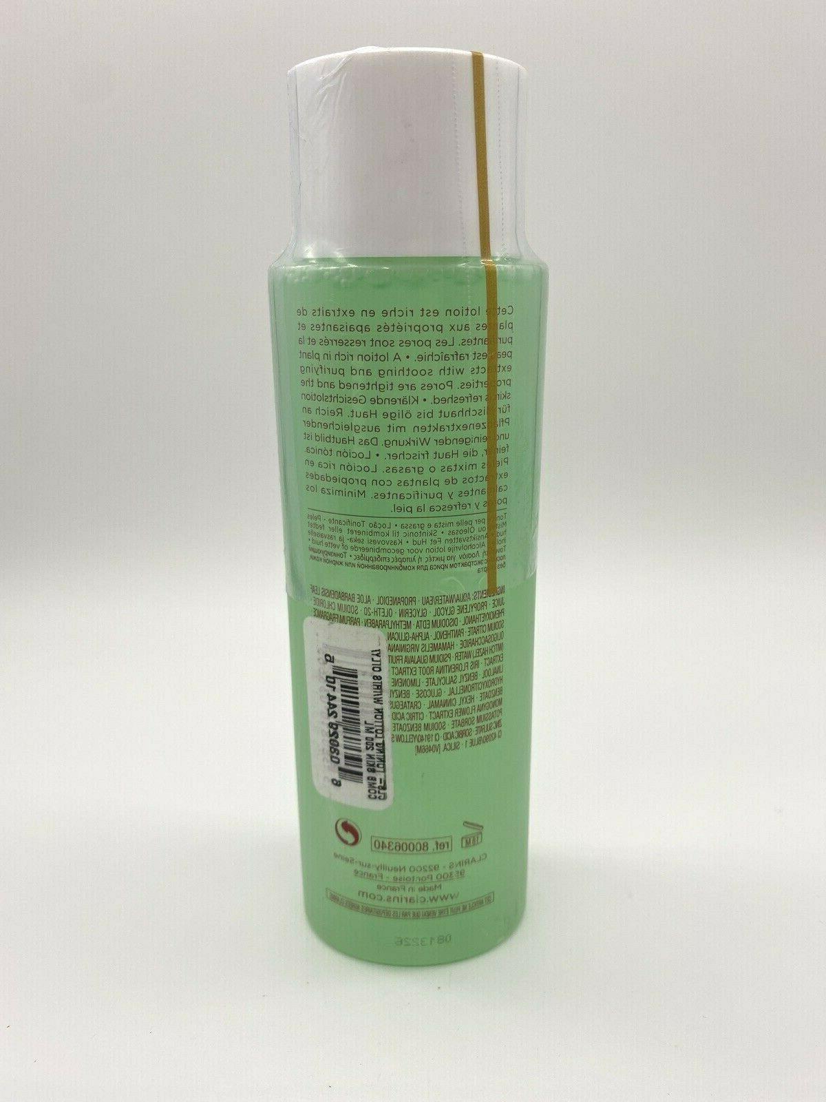 Clarins Toning w/ Iris Alcohol Combination Oily Skin SEALED