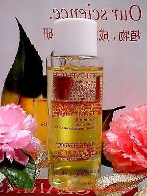 """Clarins Toning Lotion with Camomile☾Normal oz◆ """"FREE"""