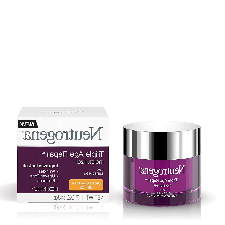 triple age repair moisturizer spf 25 1