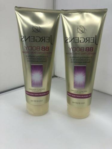 two pack bb body perfecting skin cream
