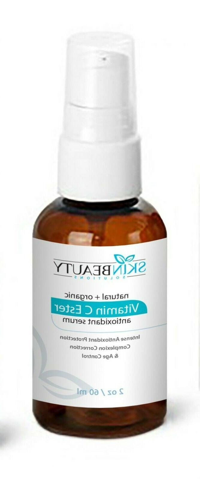 2oz Vitamin C Ester Serum-Skin Lightening Wrinkles Acne Dull