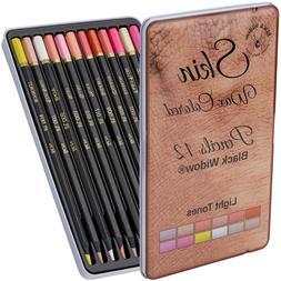Light Skin Tone Color Pencils  Portrait Set  Colored Pencil
