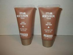 Lot of 2 Bonne Bell Matte Perfection Foundation-Olive Skin T