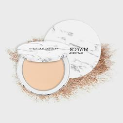 Marble Pressed Powder Waterproof Cover Blemishes Brighten <f