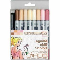 Copic Markers 9 Piece Ciao Manga Set Skin Tones